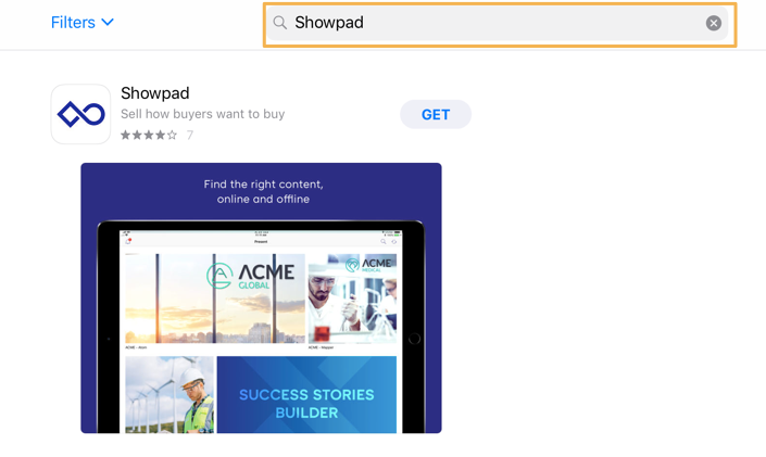 Download and install the Showpad app – Showpad Help Center
