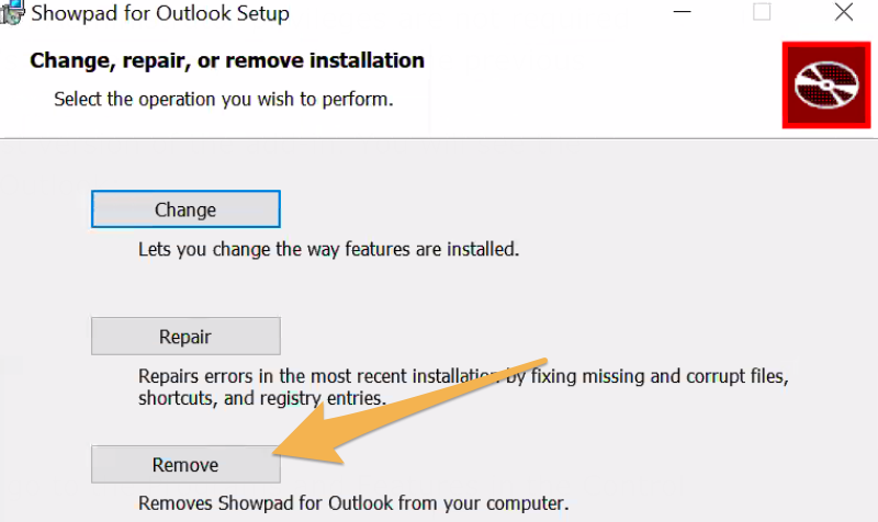 Install and connect Showpad for Outlook – Showpad Help Center