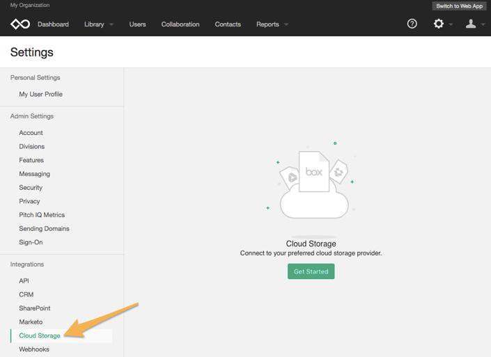 Sync Cloud content with Showpad – Showpad Help Center