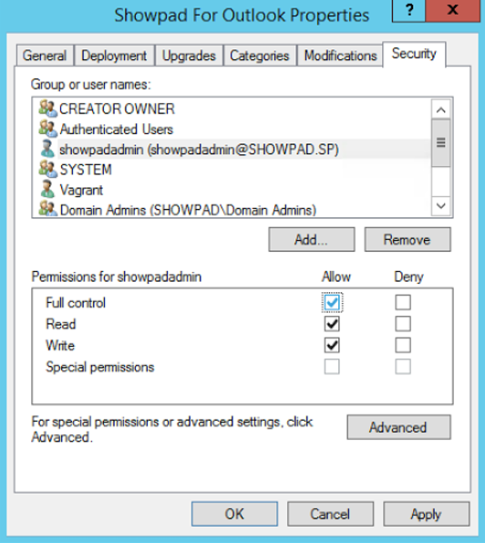 Deploy Showpad for Outlook on your domain – Showpad Help Center